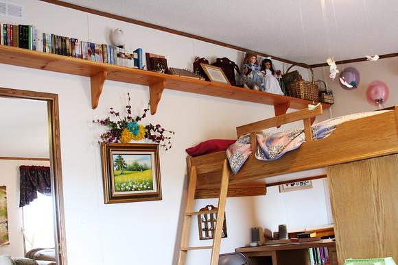 Over the Loft Bed/Desk
