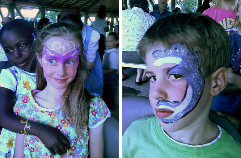 Face Painting at the Carnival