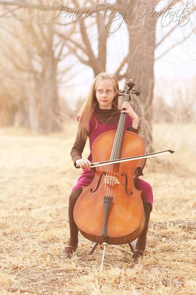 Keianna's New Cello