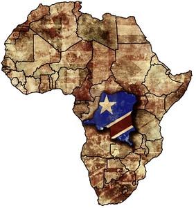 Democratic Republic of Congo in Africa