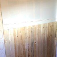One Room Challenge Week 3 - Cottage Bathroom Progress