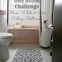 One Room Challenge Week 6 - A Glam Cottage Bathroom Reveal