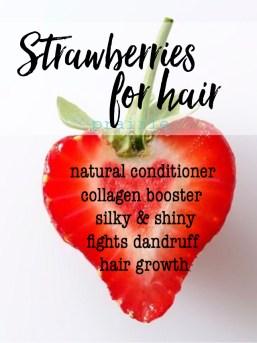 Tiber River Naturals sale Strawberries Hula Berry silky, shiny hair