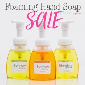 Tiber River Naturals Foaming Hand Soap