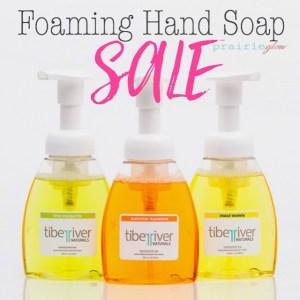 Tiber River Naturals Foaming Hand Soap