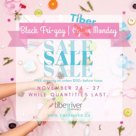 black friday tiber river naturals praire glow