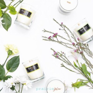 soy harvest candles tiber river naturals prairie glow detoxify