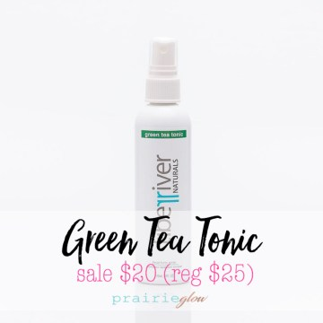 green tea tonic tiber river naturals prairie glow