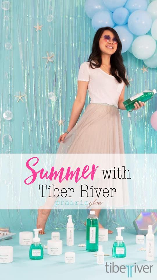 Tiber River Summer Prairie Glow