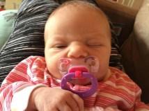 This kid was born - my adopt a niece E