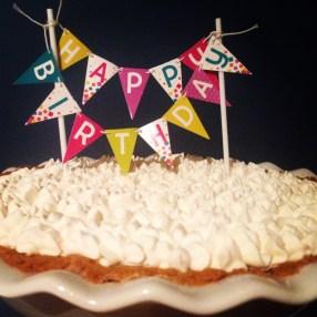 Happy Birthday Coach Dad! Key lime pie