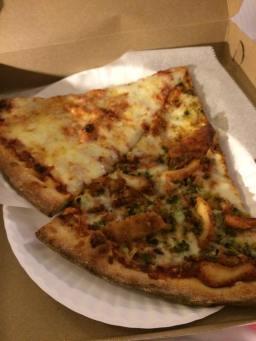NYC-style pizza...mmmmm!