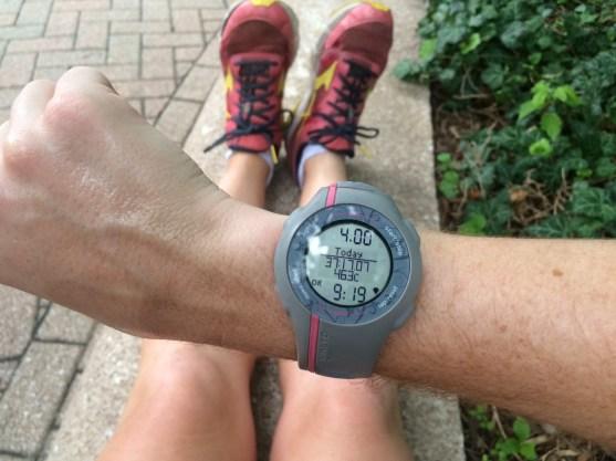 Medium pace effort miles