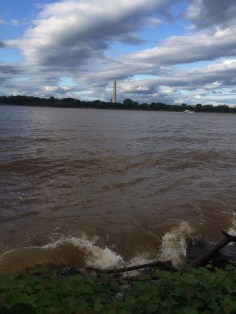Swollen Potomac River after a lot of rain!