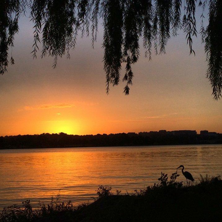Last sunset of summer happened this week.
