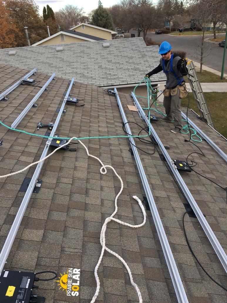 company to install solar panels in regina
