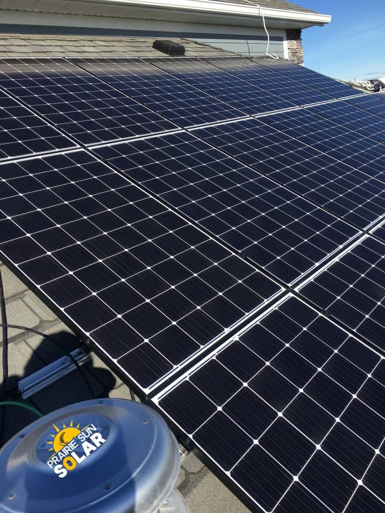 prairie sun solar regina sask-solar installation