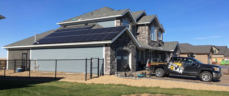 prairie sun solar-solar panel project