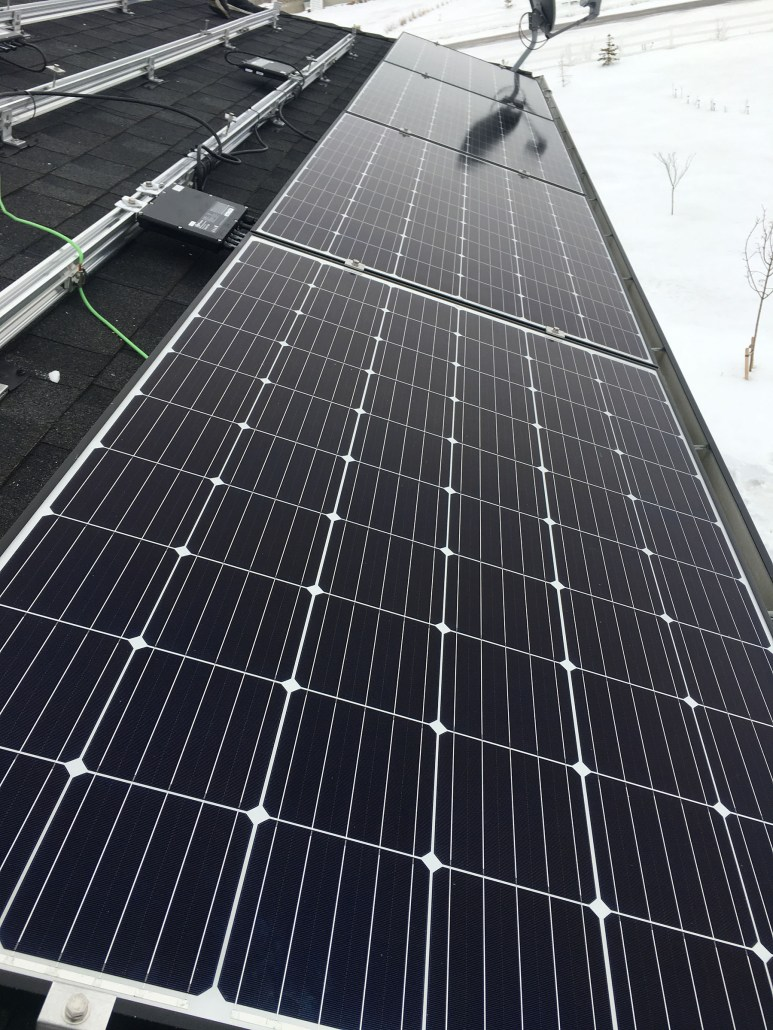 solar panels sask-installed by Prairie Sun Solar