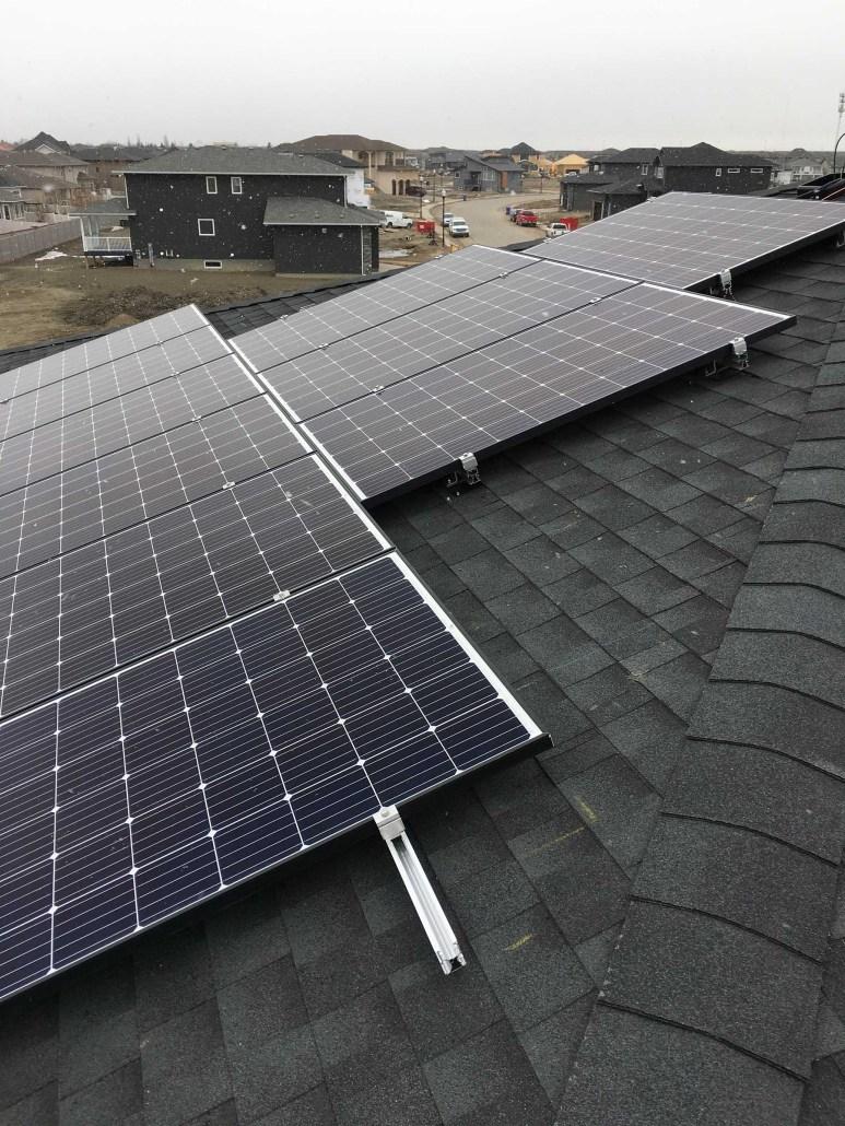 Regina Solar Panels installed