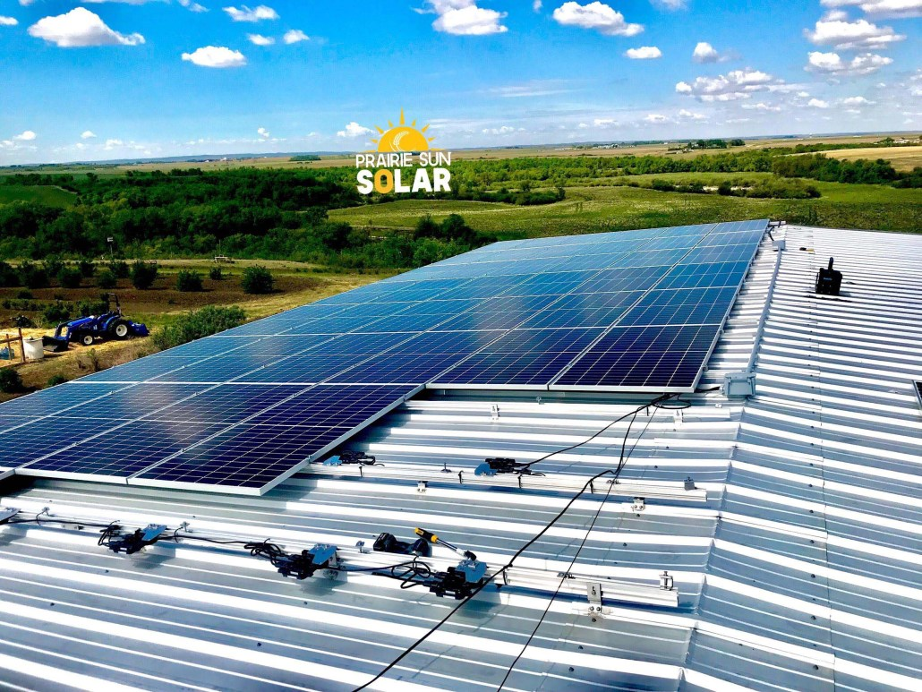 Hanwha Qcells - Solar Panels installed on the farm