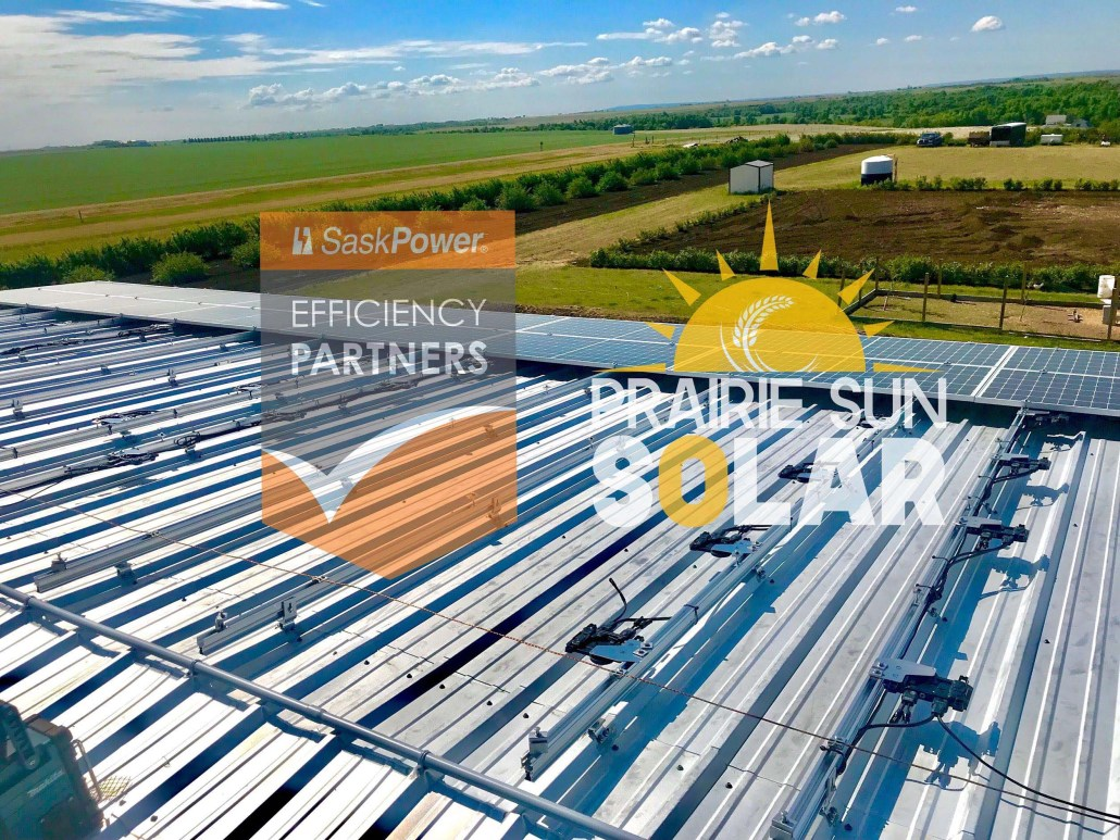 rural solar panels installed-Prairie Sun Solar
