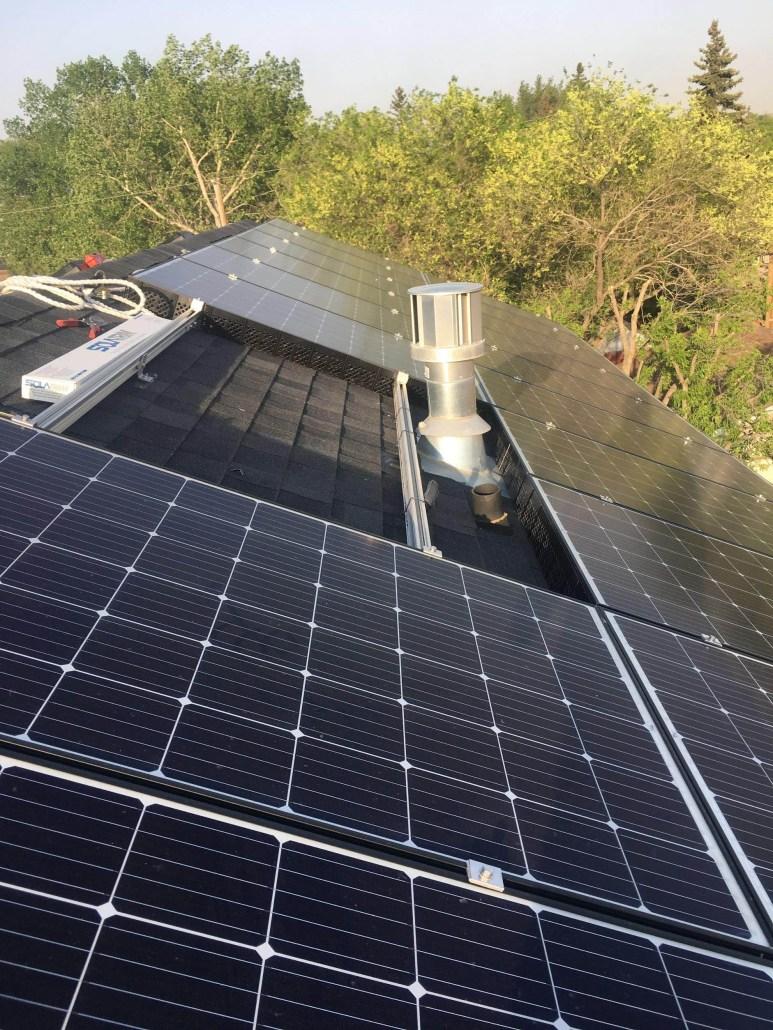 solar panels installed in Regina sk