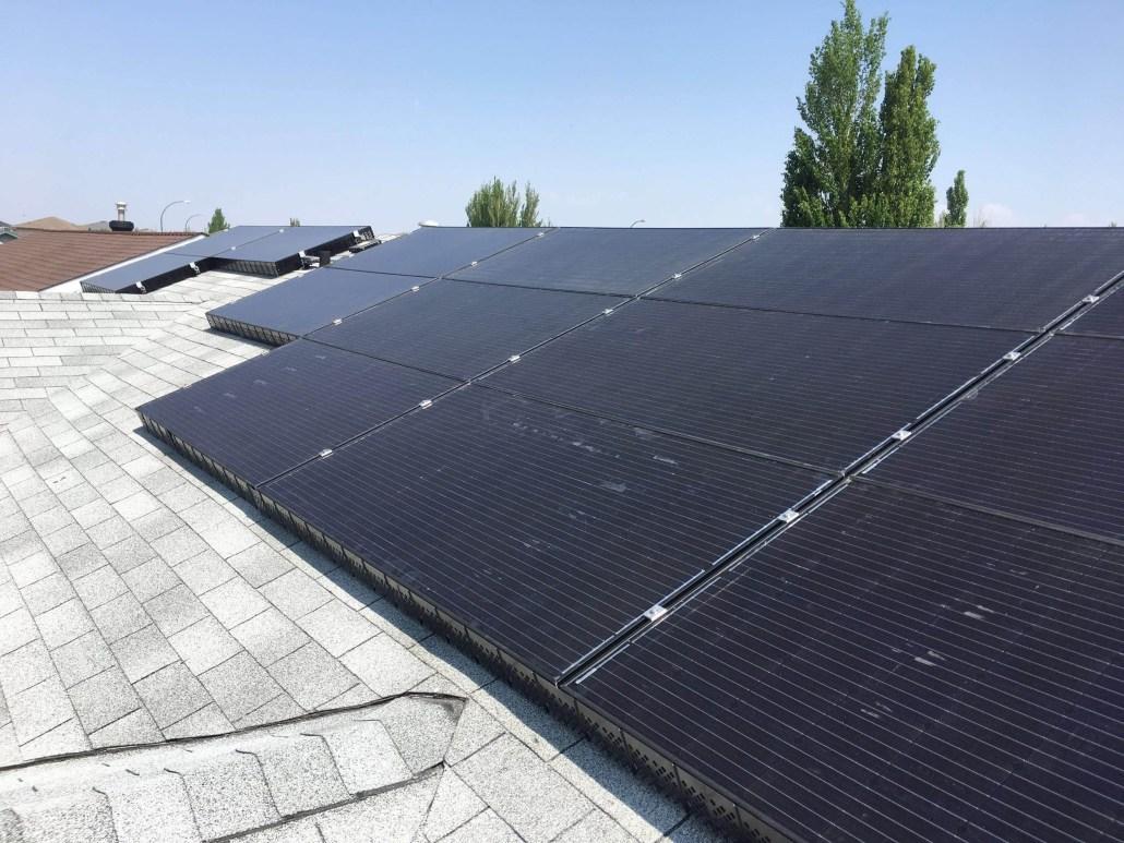 solar panels-residential installation
