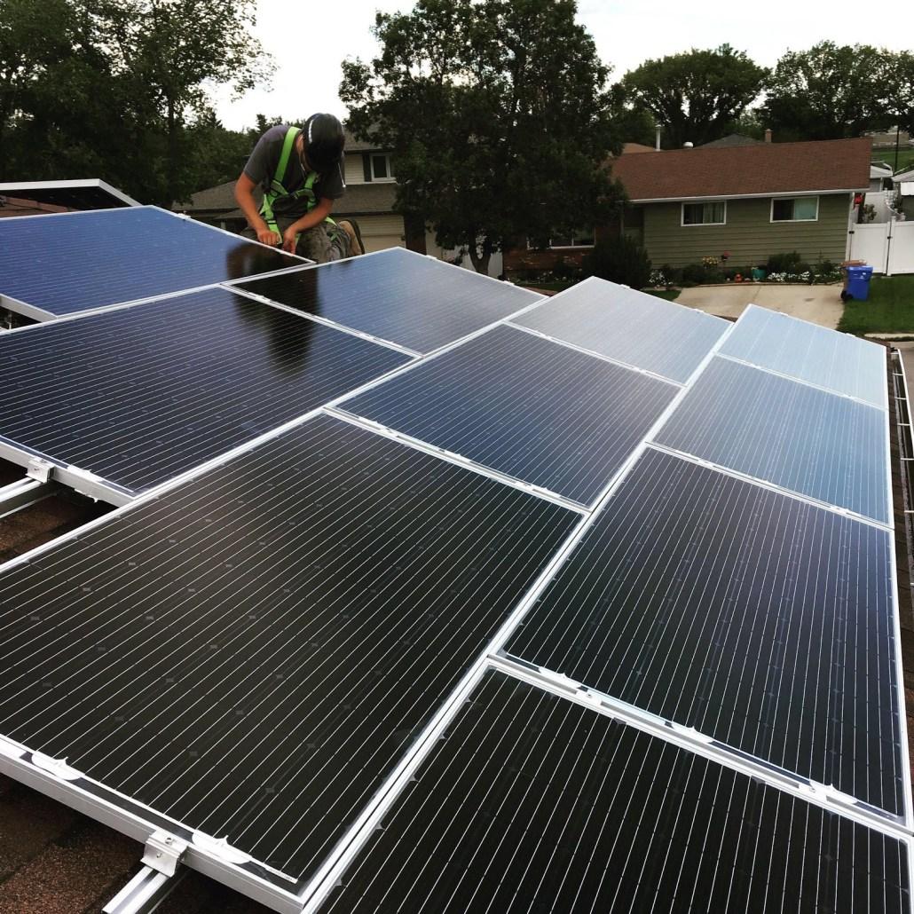 residential solar intallation 30 year - Prairie Sun Solar