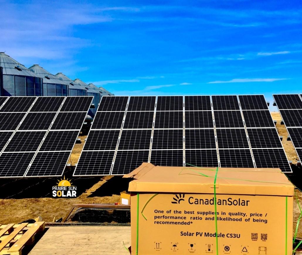 Canadian Solar - Solar Supplier - Prairie Sun Solar