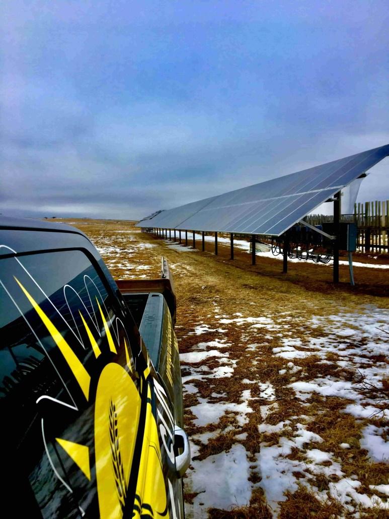 Solar Saskatchewan Farm - Ground Mount Solar - Moose Jaw - 64kW