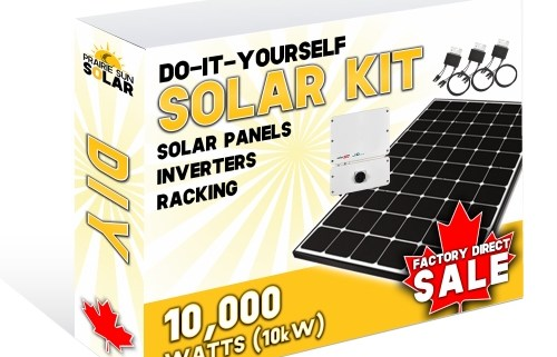 Solar DIY KIT - 10kW - Solar Supplier