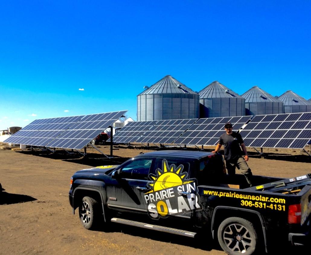 Solar Farm - Moose Jaw Solar - Prairie Sun Solar