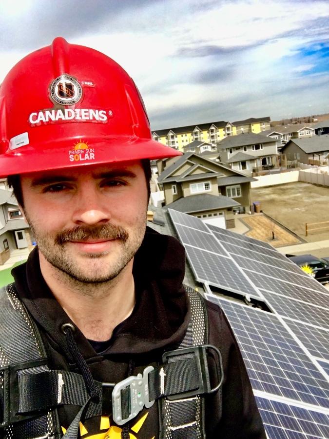 Solar Panel Installer - Brenden Owens