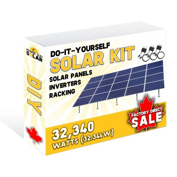 Solar Panels Ground Mount 32340W