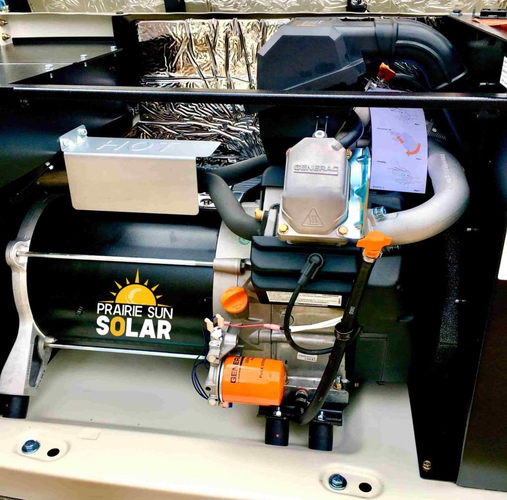 Generac Generator Maintenance Service by Prairie Sun Solar