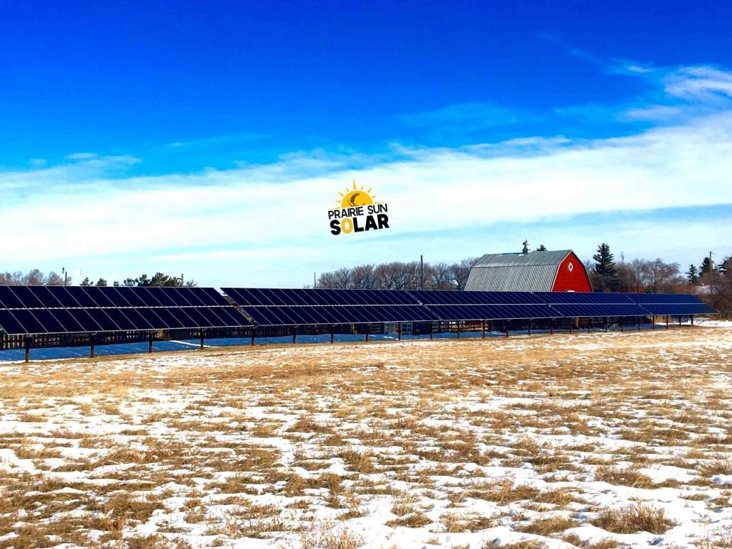 Moose Jaw Solar - Ground Mount Solar - Prairie Sun Solar