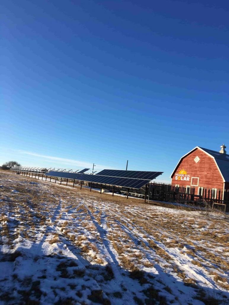 Solar Farm Barn - Saskatchewan Solar - Regina