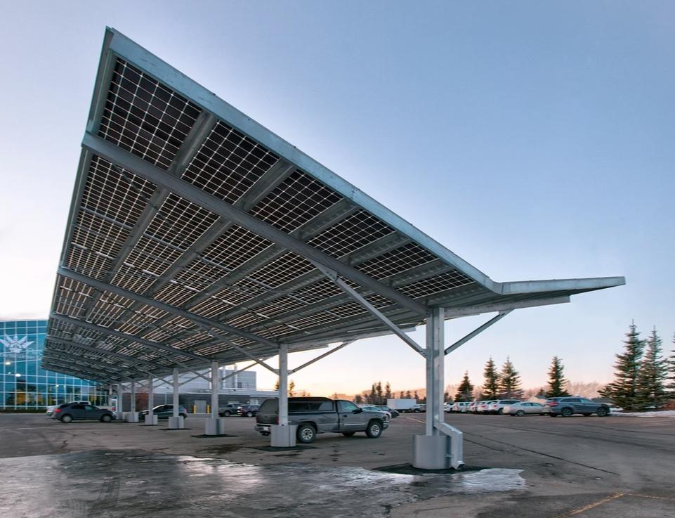 Solar Carport - Prairie Sun Solar