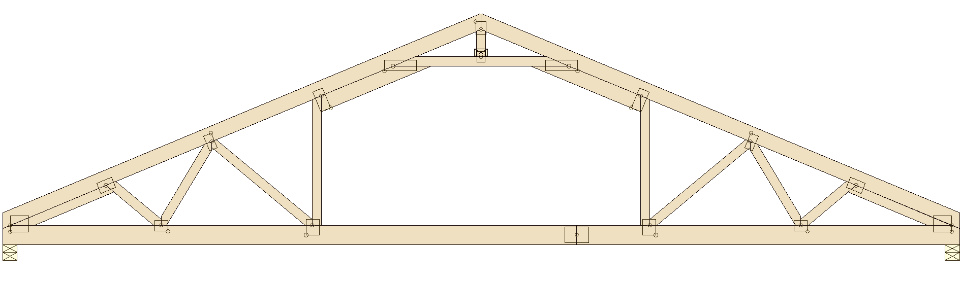 Truss types prairie truss for Attic storage bow