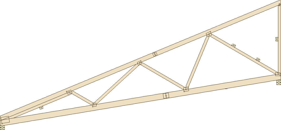 Truss types prairie truss for Scissor truss design