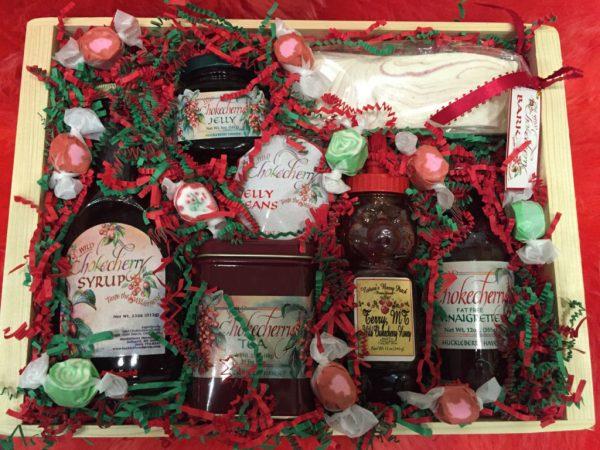 Wild Chokecherry Gift Basket