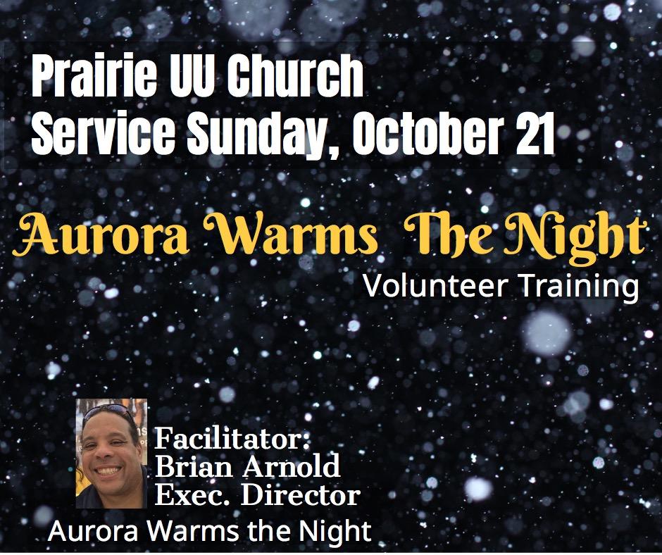 Aurora Warms the Night