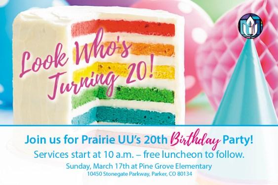 PUUC Birthday Celebration