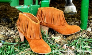 PW fringe booties