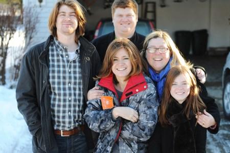 Donna and her children
