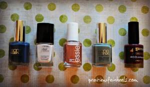 fall 2013 Nail polish