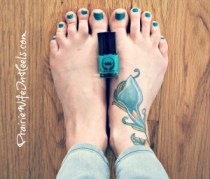 Wantable toe nail polish