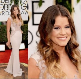 Sosie Bacon at Golden Globes