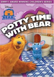 Potty time with bear